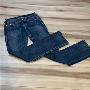 True Religion Straight Jeans, Sz 27
